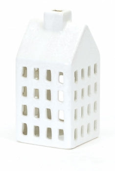 White House Candle Holder-Small
