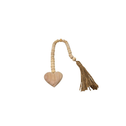 Mini Heart + Tassel Prayer Beads