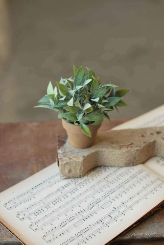 Mini Cement Pot-Tapered