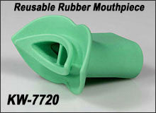 Mouthpiece, Rubber, Reusable, 30/pk