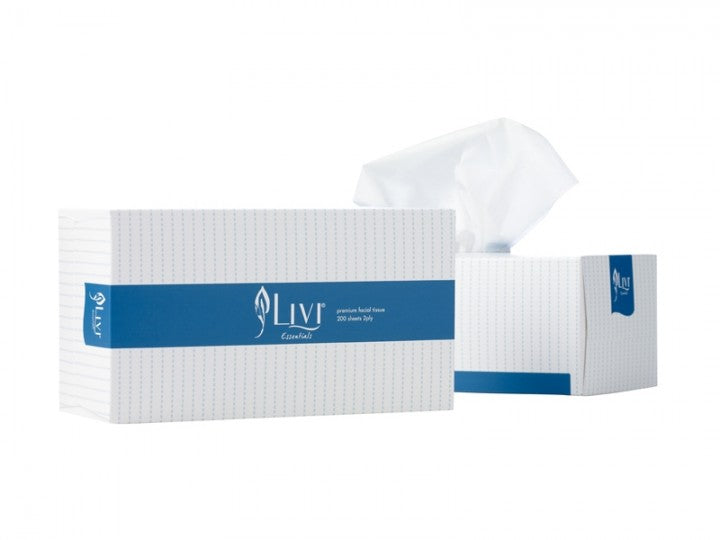 Livi Essentials facial tissue 200s – 1302