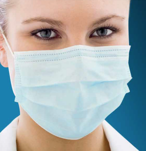 Surgical Face Masks 3 Ply: Fluid Resistant Level 3 (Ear Loop)