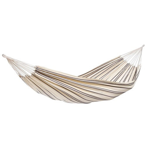 Medium image of amazonas brazilian barbados double hammock in cappuccino