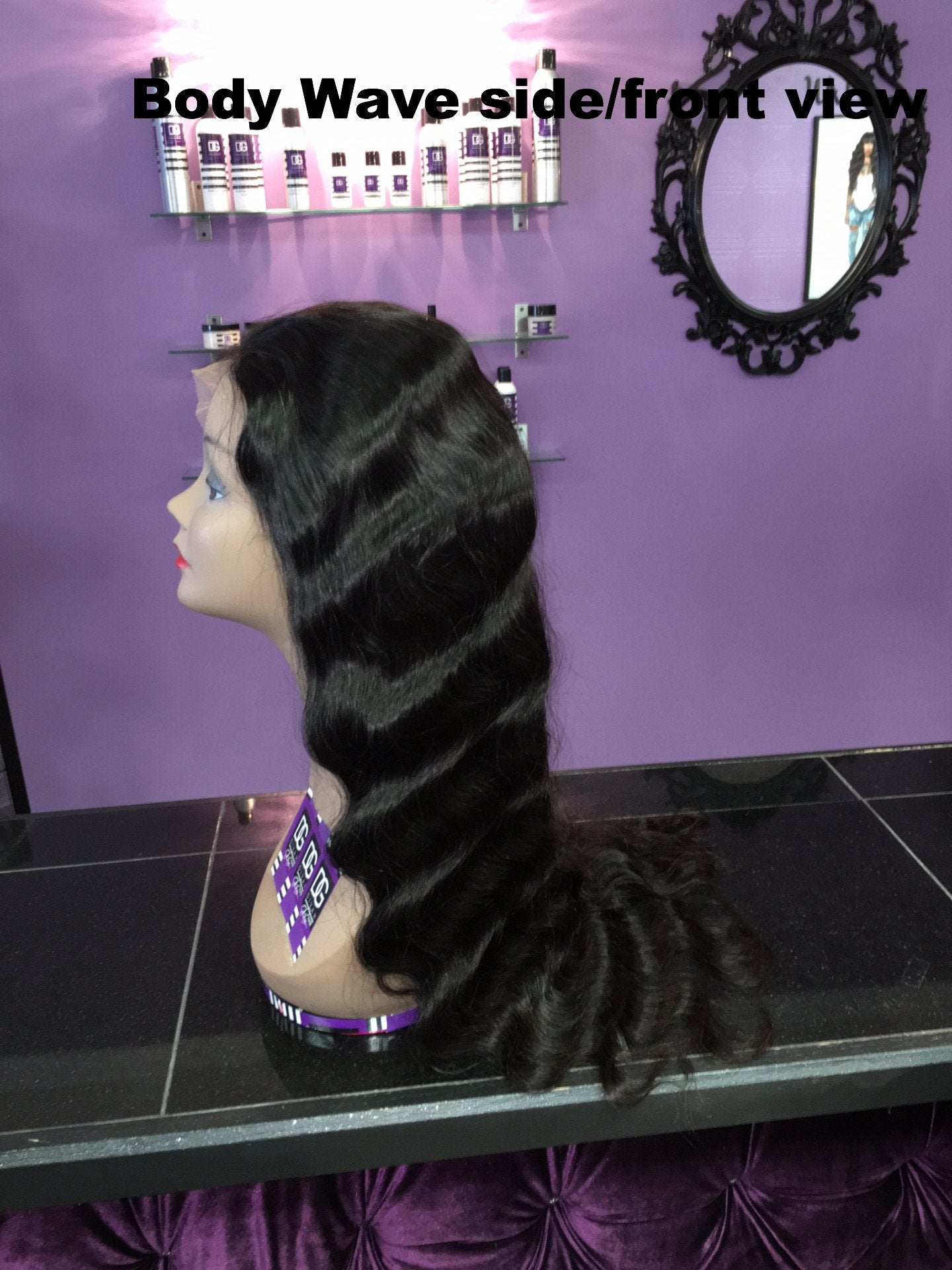 GLUELESS BODY WAVE FULL LACE WIG