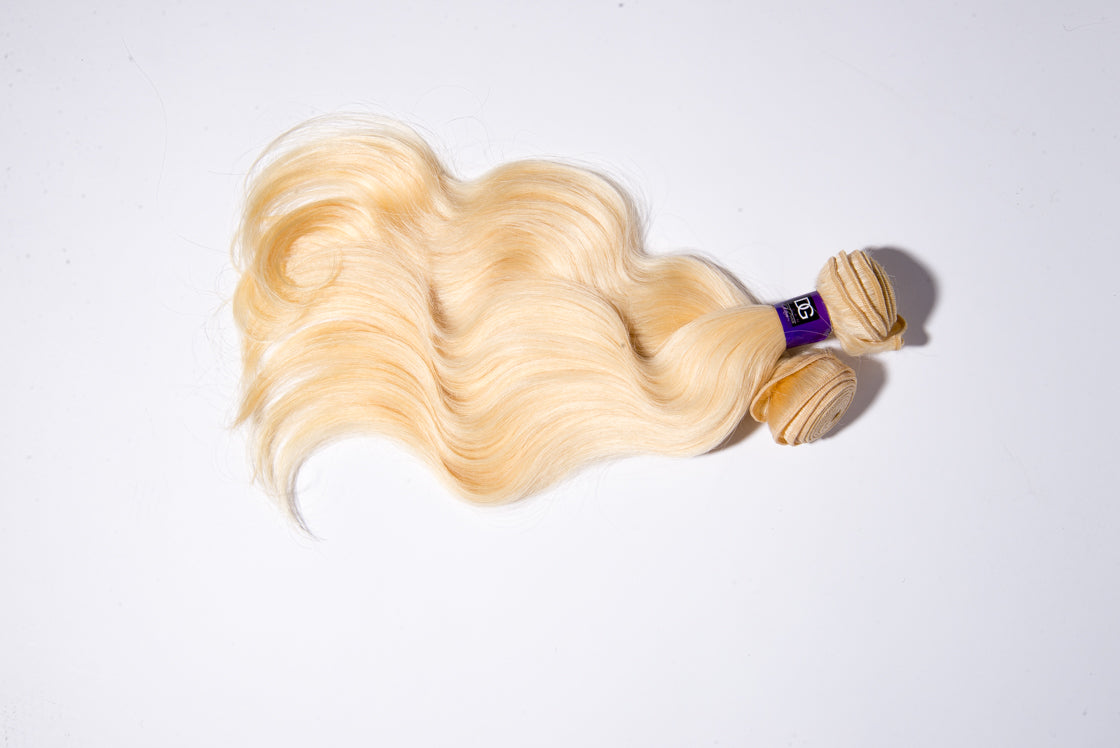 613 WHITEBLONDE BODY WAVE BUNDLES