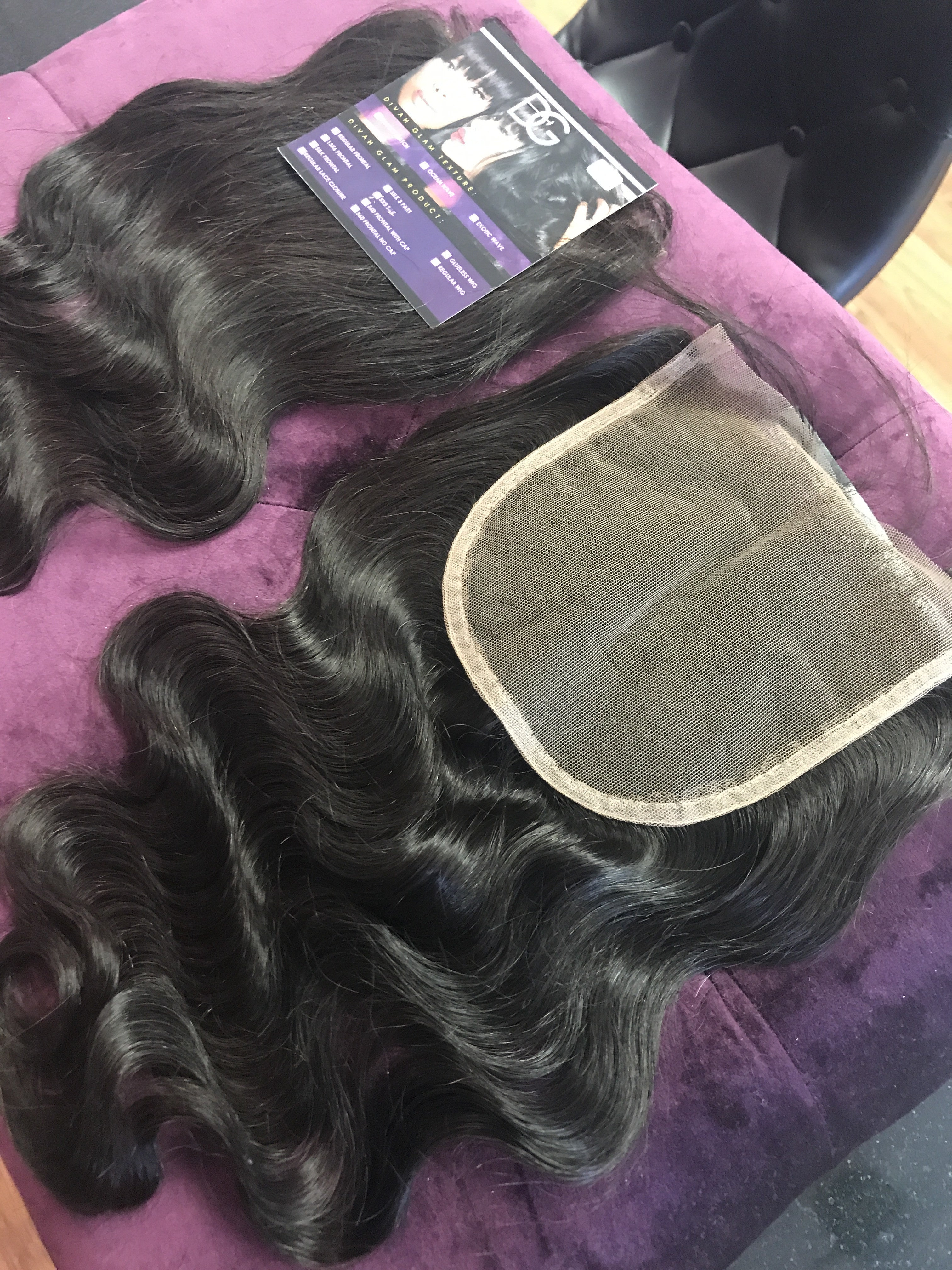 5x5 PERFECT MATCH ILLUSION MESH LACE CLOSURE