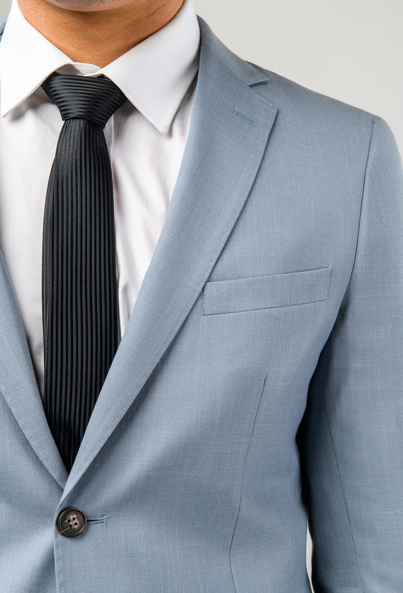 Aston slim fit brighton suit in sky blue
