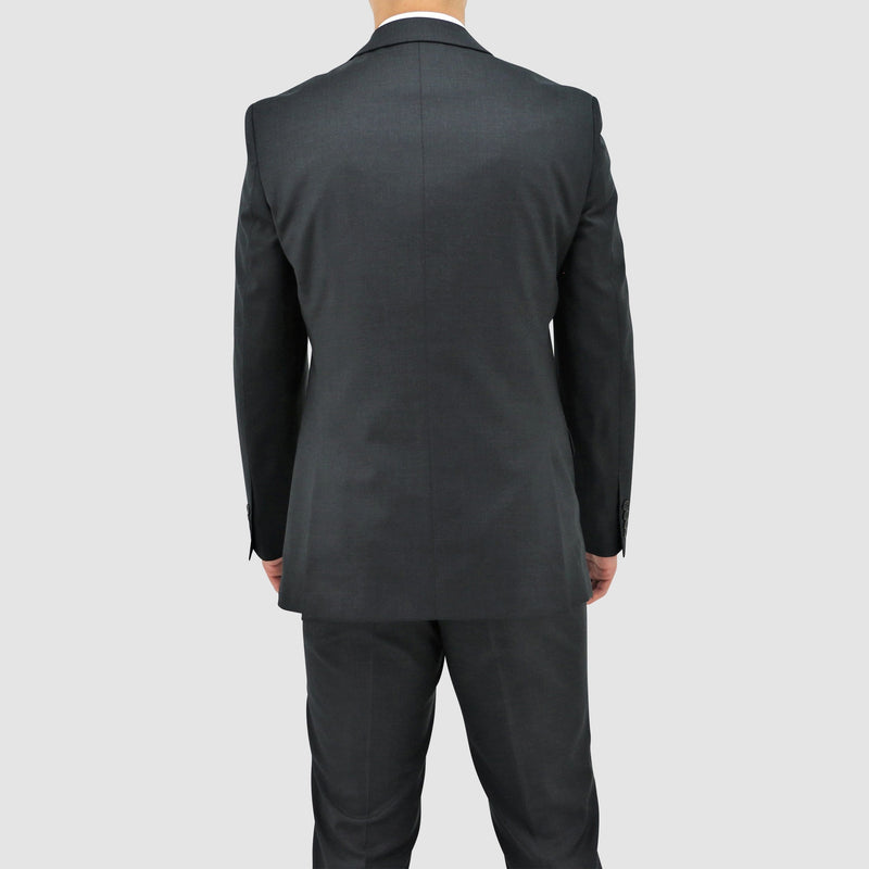 the back view of the boston slim fit michel suit jacket B106-02