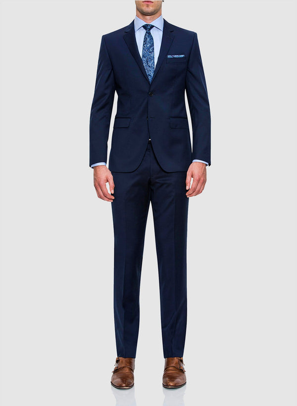 Cambridge classic fit range suit in navy pure wool FCZ027