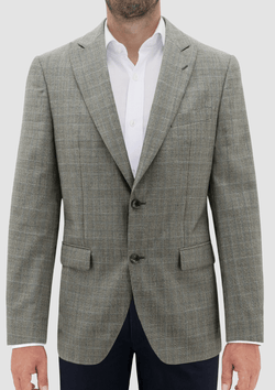 Daniel Hechter slim fit moscow sports jacket in beige check