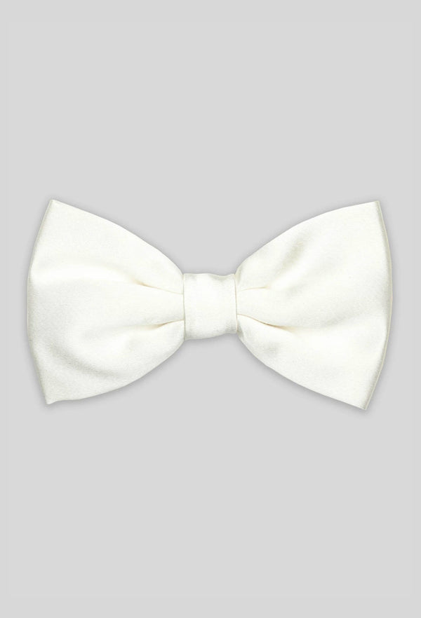 Joe Black classic bow tie in ivory
