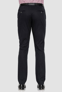 Joe Black slim fit tourist sports trouser in navy