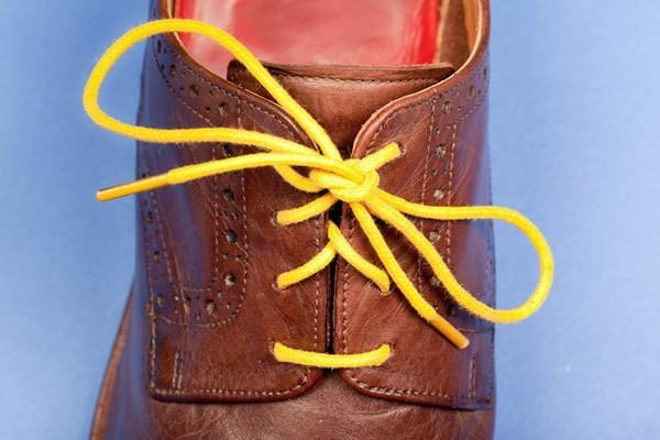 Yellow Shoelace by Mavericks Laces Melbourne - Goose