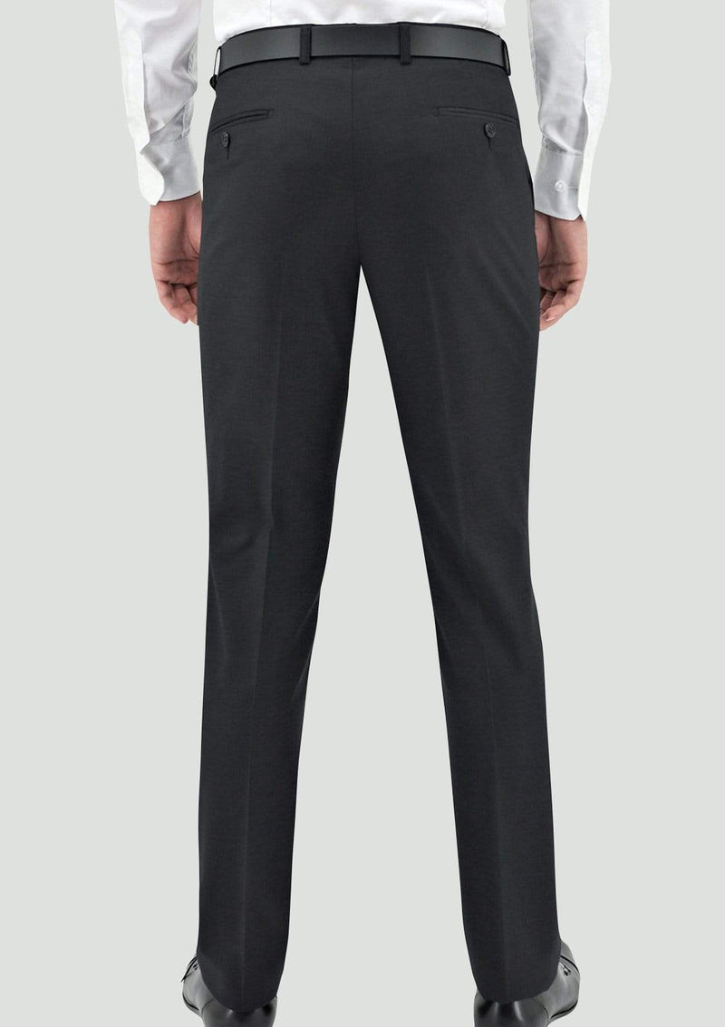 Daniel Hechter slim fit shape suit in charcoal pure wool - Big Man Sizes
