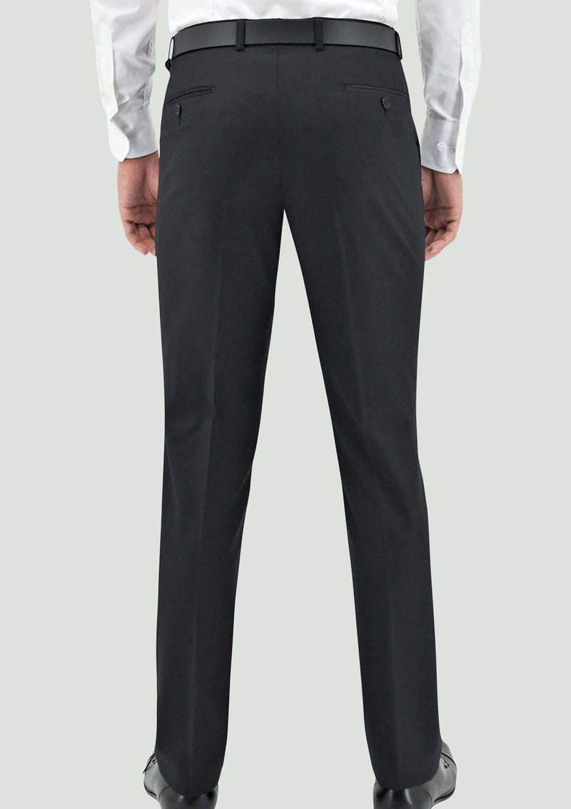 Daniel Hechter slim fit shape suit in charcoal pure wool