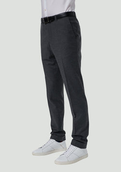 a front view of the yury wool stretch mens trouser by wold kanat 8wk9034.