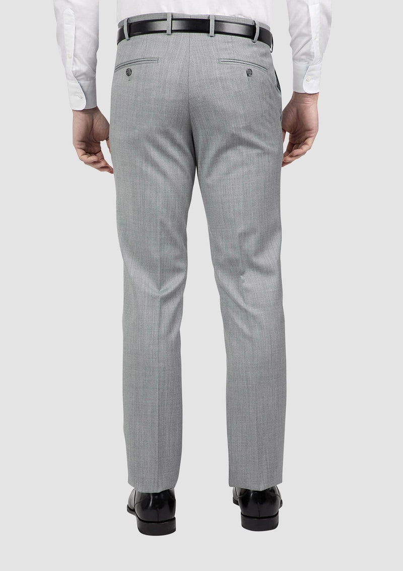 a back view of the mens jett suit trouser by cambridge clothing FCG279