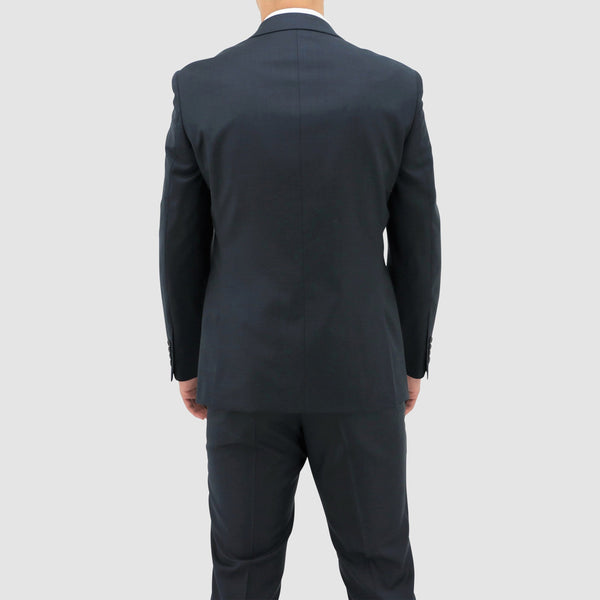 Boston slim fit michel suit in navy blue pure wool B106-12