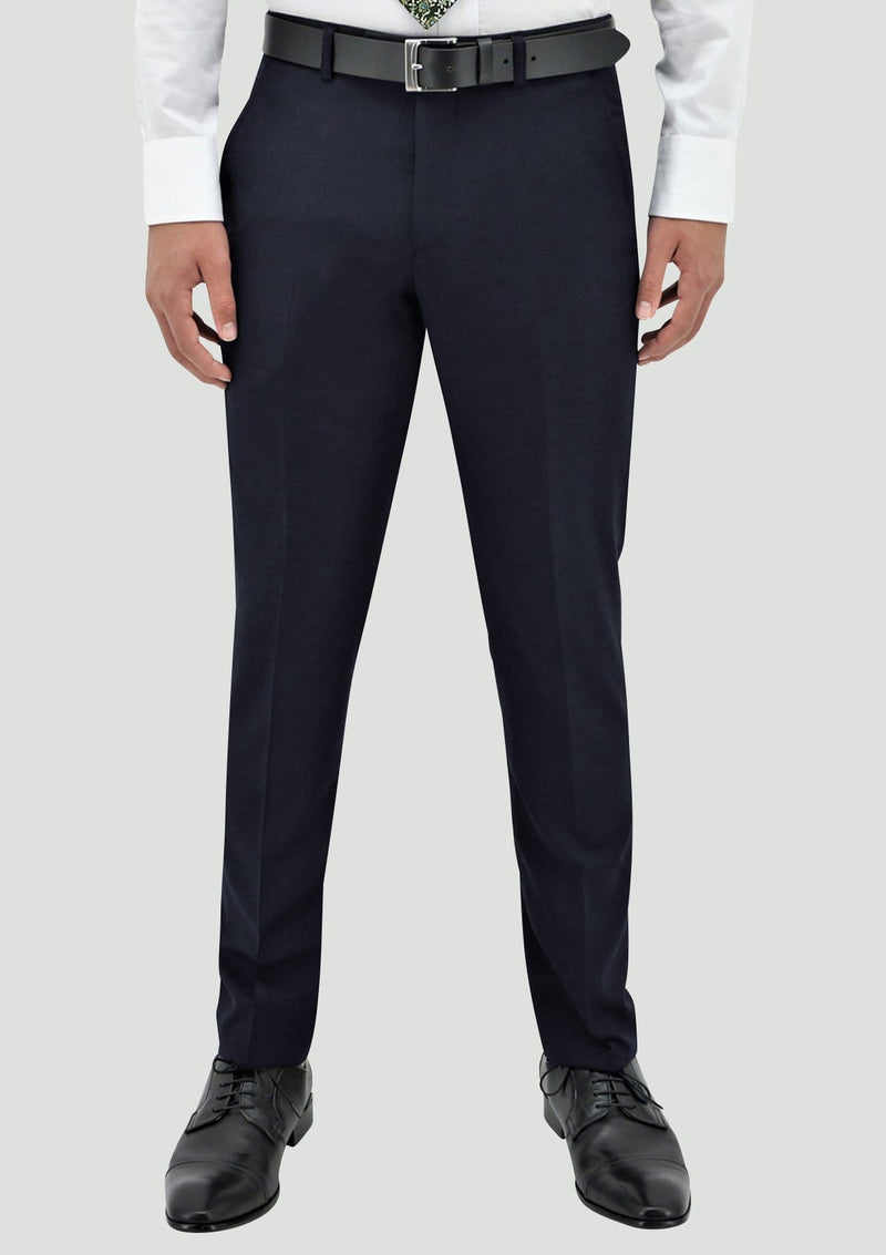 the lyon trousers as part of the michel suit in navy blue by boston B106-11