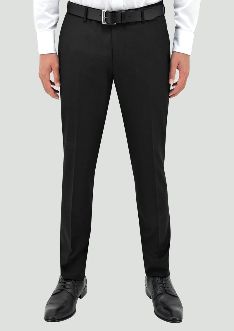 the tuxedo pants as part of the B203-01 edward tuxedo in black pure wool