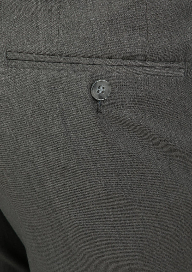 the back pocket detail of the jett trouser in brown FCG282