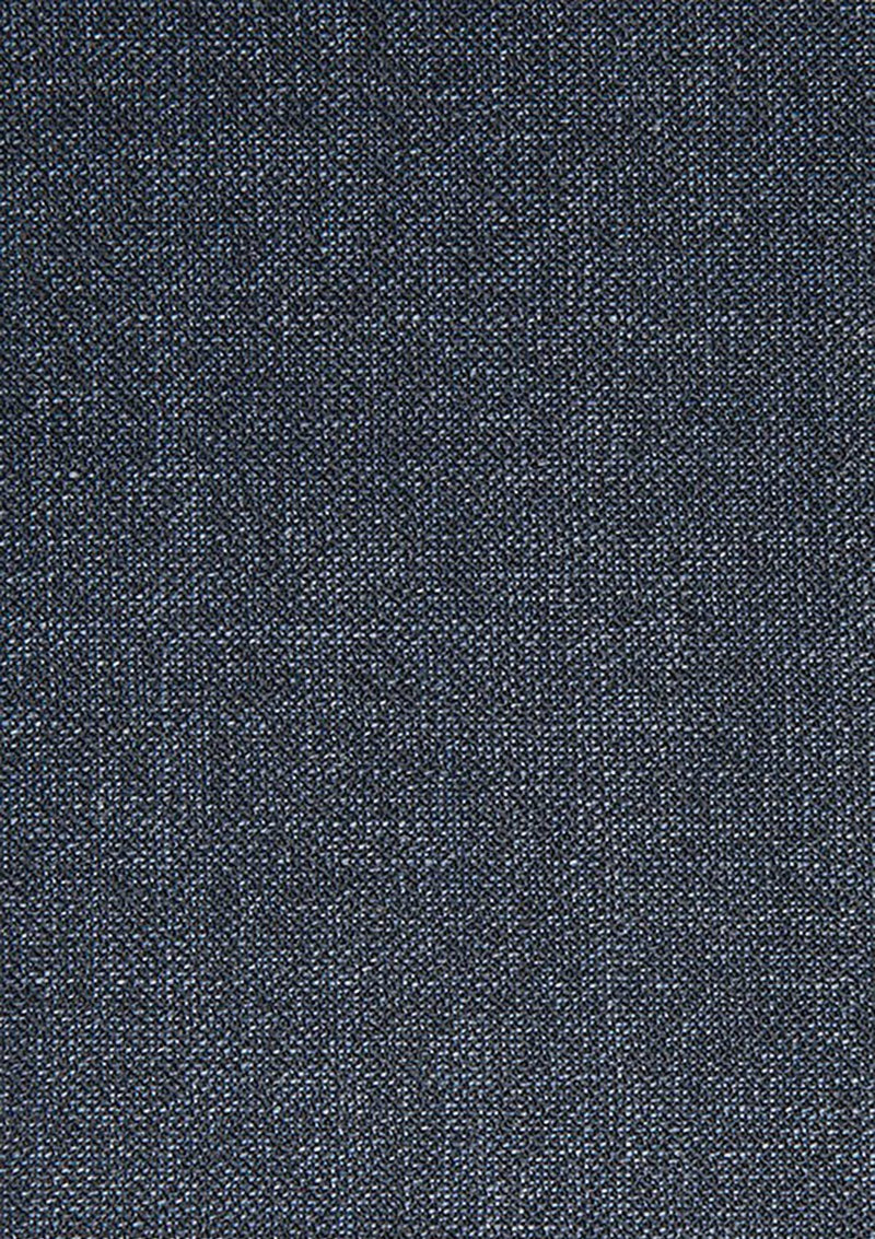 a close up view of the fabric on the cambridge jett trouser in blue FCG280