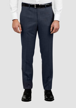 a front view of the cambridge jett trouser in blue FCG280