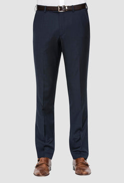 a front view of the cambridge jett trouser in navy F2042