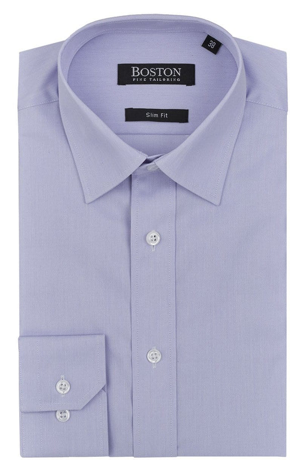 boston classic or slim fit liberty mens business shirt in mauve cotton