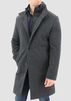 Oliver mens coat by daniel hechter available online at mens suit warehouse melbourne W20DH812-02