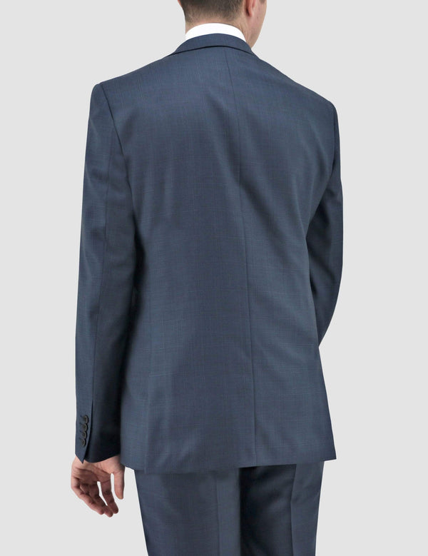 daniel hechter slim fit shape suit in blue pure wool DH210