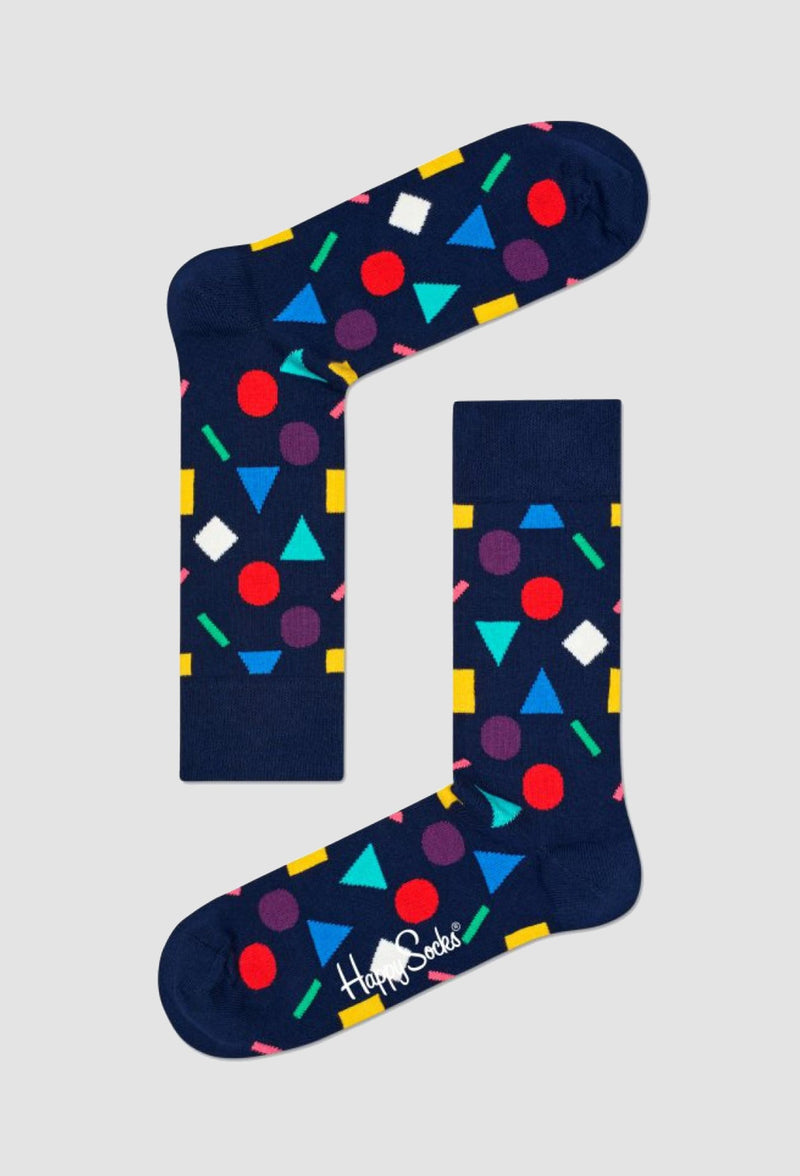 a pair of happy socks play socks in navy cotton