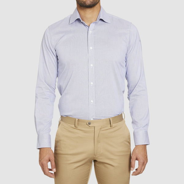 conran business shirt in grey by studio italia st-12