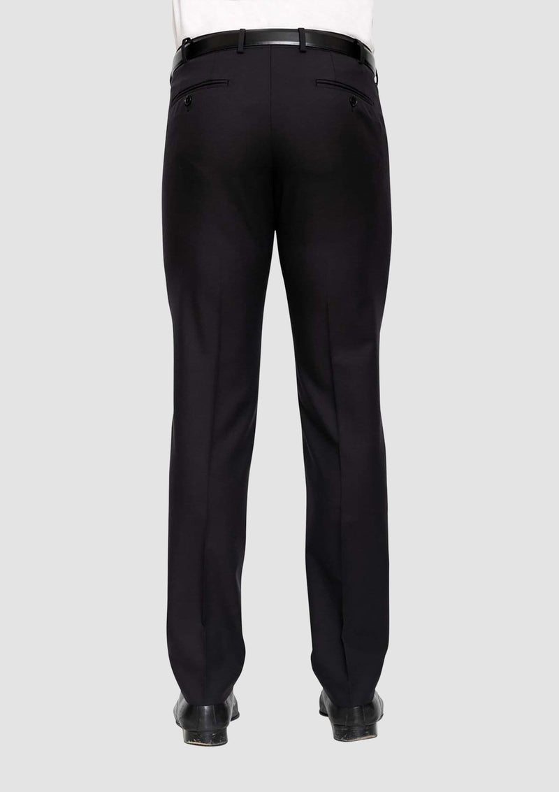 the cambridge classic fit interceptor suit trouser in black FMG100