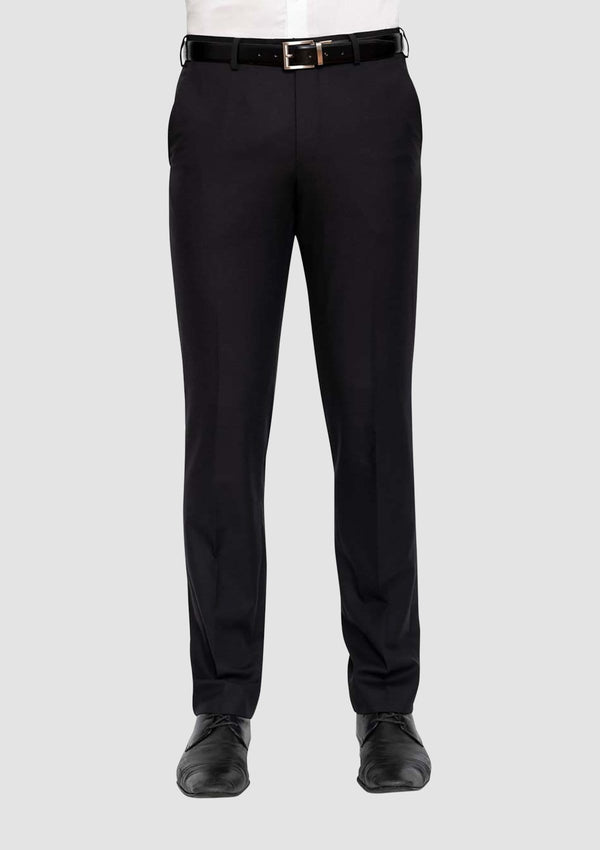 Cambridge classic fit morse suit in black pure wool - Big Man Sizes FMG100