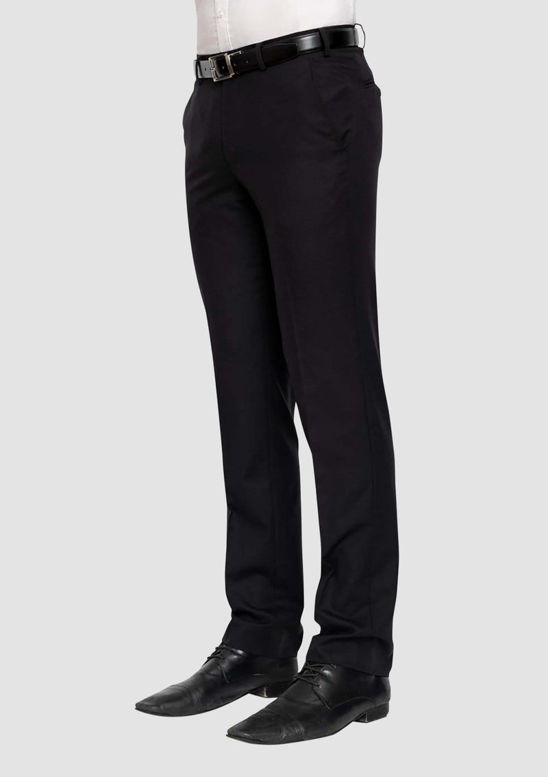 the cambridge classic fit interceptor suit trouser in black on the side FMG100
