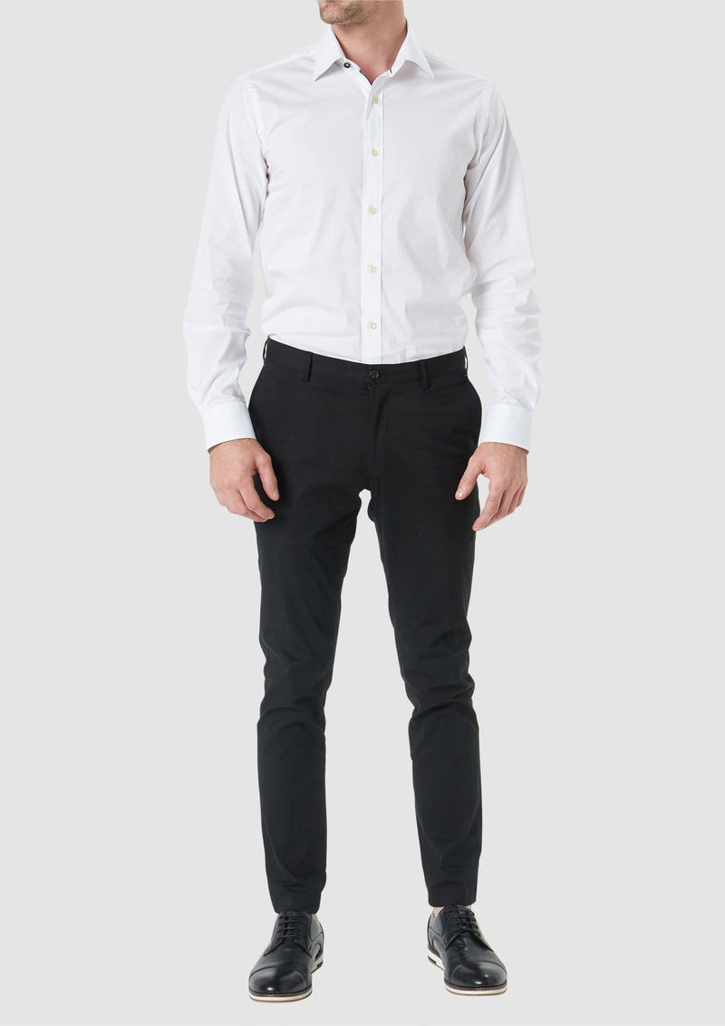 the wolf kanat slim fit herve shirt in a comfortable cotton stretch blend