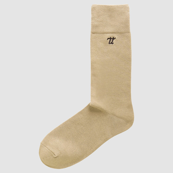 the Chusette Men's Warm Cotton Socks in Beige 3-WC-M-1