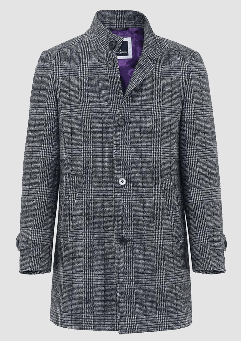 the daniel hechter butler mens winter coat available online at mens suit warehouse melbourne