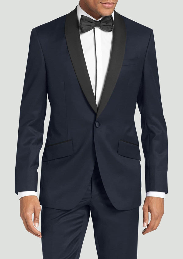 the twilite mens tuxedo in navy blue pure wool by ted baker 1RL0410
