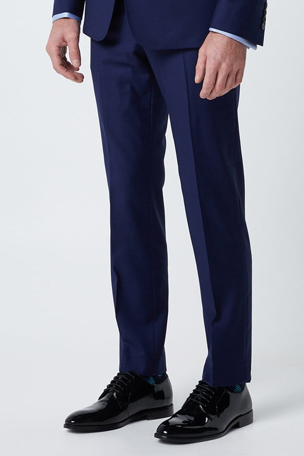 a close up of the mens suit trouser in the autograf wolf kanat suit 7WK4236