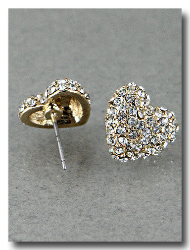 Heart Diamond Earrings - Dear Reverie