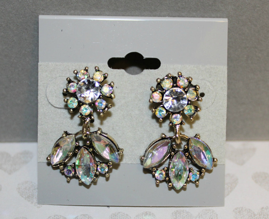 Dazzling Diamond Drop Earrings - Dear Reverie