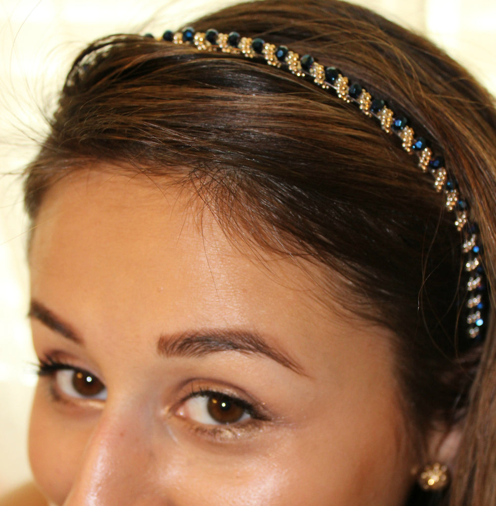 Crystal Beaded Headband - Dear Reverie