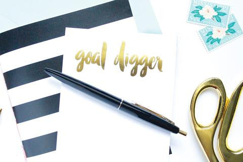 Goal Digger Notepad - Dear Reverie