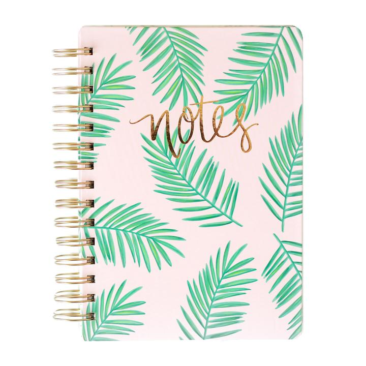 Palm Leaves Spiral Notebook - Dear Reverie
