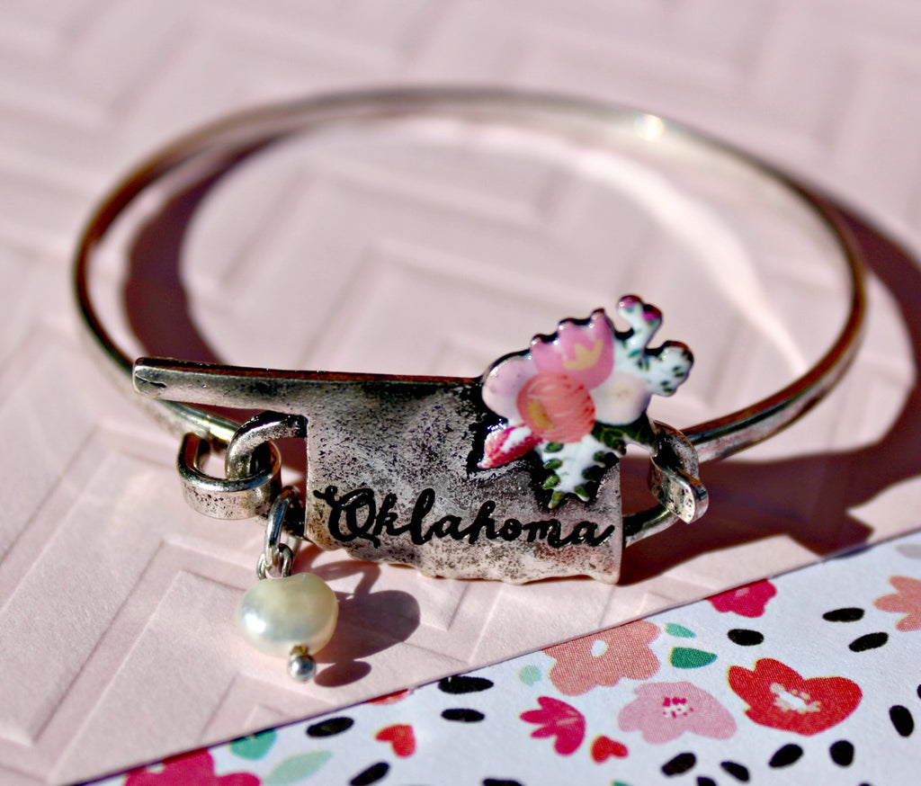 Oklahoma Bracelet (Available in Silver or Gold) - Dear Reverie