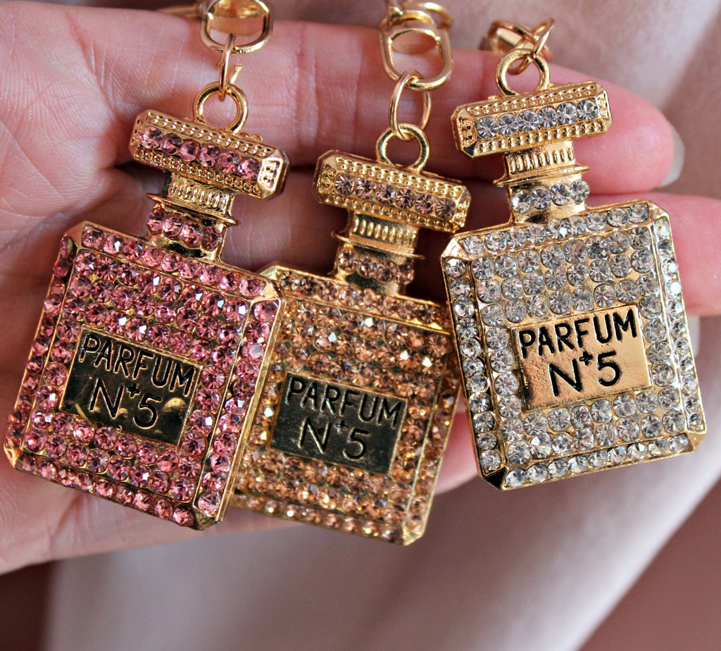 Perfume Bottle Keychain (3 Colors) - Dear Reverie