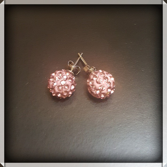 Sparkling Diamond Studs - Dear Reverie
