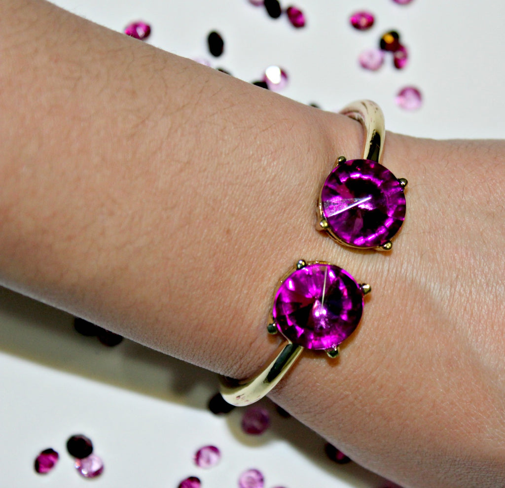 Plum Passion Bracelet - Dear Reverie